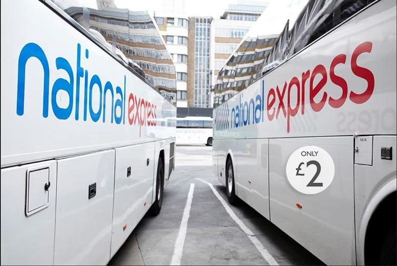 £2 for 30% off a Single or Return Coach Fare - Multiple UK Locations!