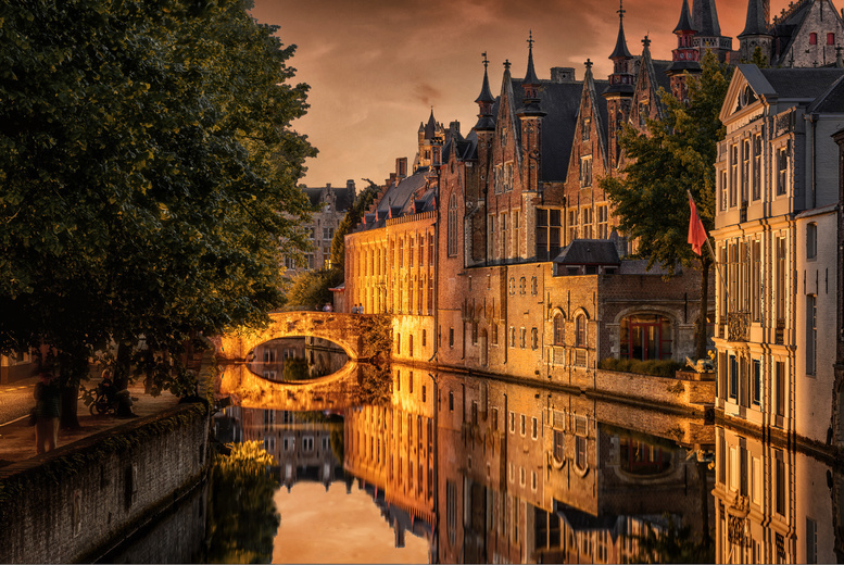 Luxury Bruges Full Day Coach Trip