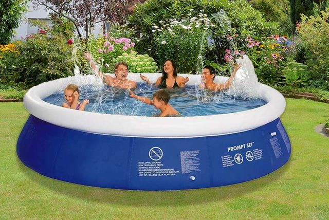 12ft Swimming Pool: Inflatable Swimming Pool