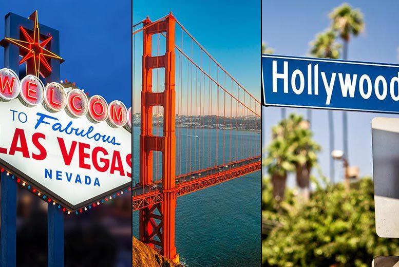 7nt Las Vegas, San Francisco & LA with All Flights