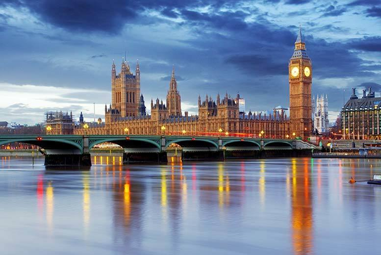 London Hotel Stay & Thames River Cruise
