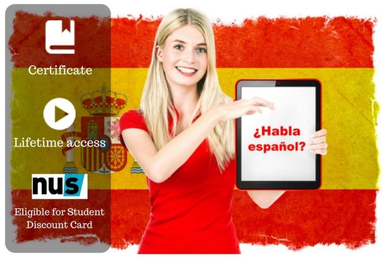 The Best Deal Guide - £8 instead of £100 for an online 'conversational spanish made easy' course from OfCourse - save 92%