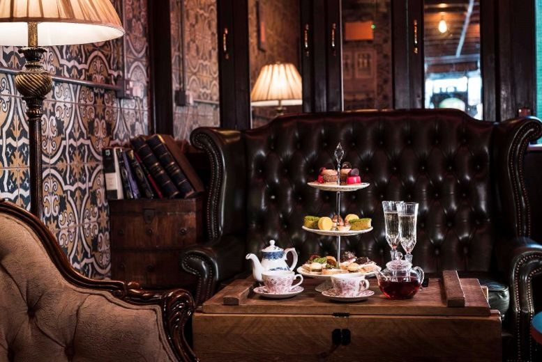 The Best Deal Guide - £34 instead of £50 for a champagne afternoon tea for 2 from Map Maison - save 32%