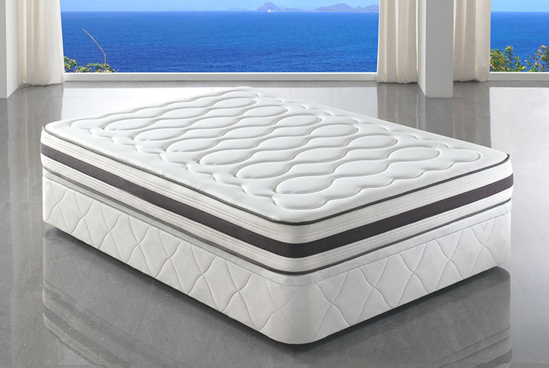 The Best Deal Guide - From £169 (from Desire Beds) for a Tranquility pocket sprung memory foam mattress - select from five sizes and save up to 86%