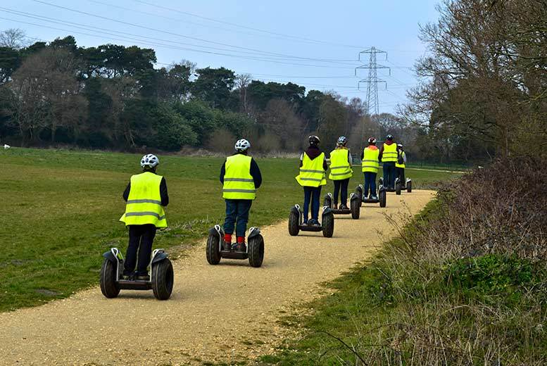 DDDeals - £19 instead of £35 for a one-hour Segway tour of Upton Country Park, Poole from Dorset Segways - save 46%