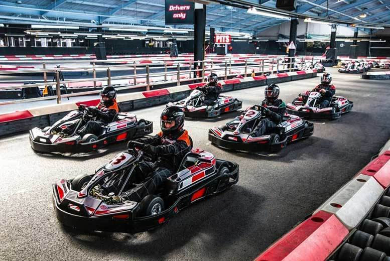 DDDeals - £54 instead of up to £99 for 50 laps of go-karting for two people with Activity Superstore - choose from over 10 locations and save up to 45%
