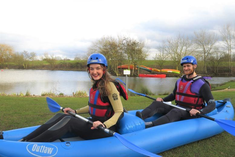 DDDeals - £16 instead of £35 for a white water duckying experience at The National Water Sports Centre, Holme Pierrepont - save 54%