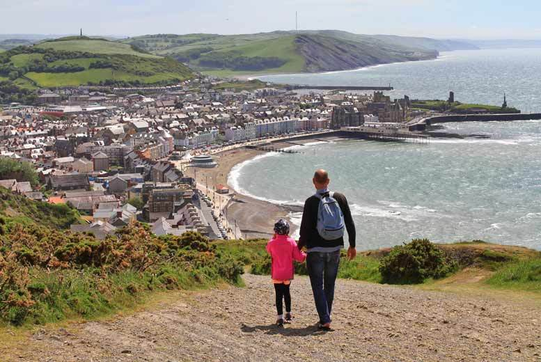 2nt Aberystwyth Cottage Stay for 2