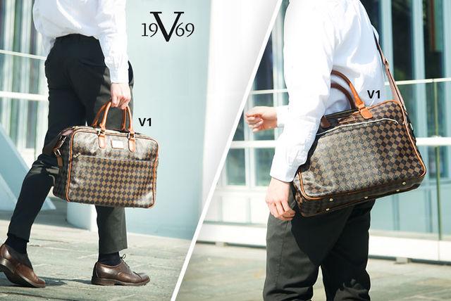 ffb6240edb Men s Versace 1969 Briefcase - 7 Styles!