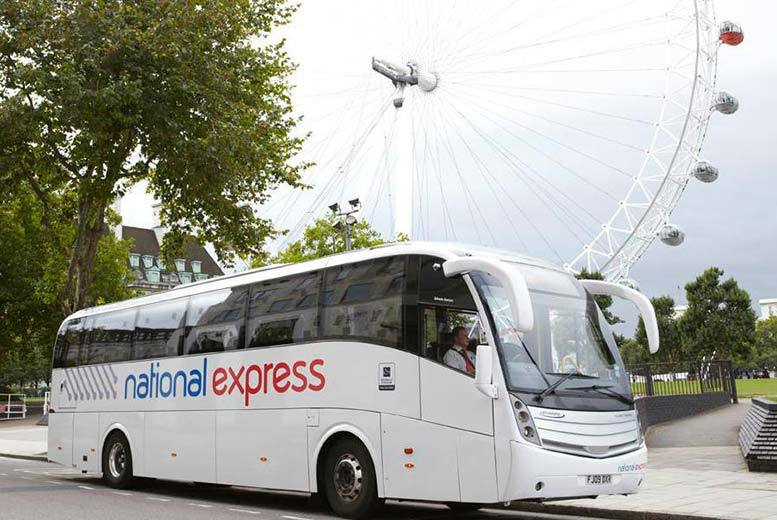 National Express Senior or Young Person's Coachcard