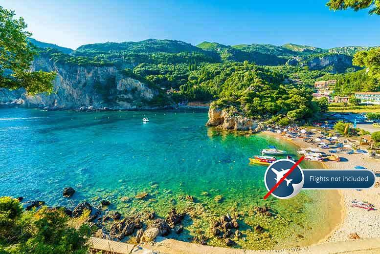 5nt Corfu Break, Paxos Day Trip, Breakfast & Transfers