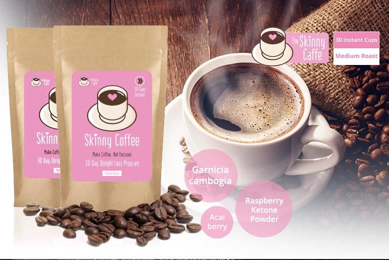 The Best Deal Guide - £24.99 instead of £38 (from The Skinny Caffe) for a sixty-day* supply of Skinny Coffee - save up to 38%