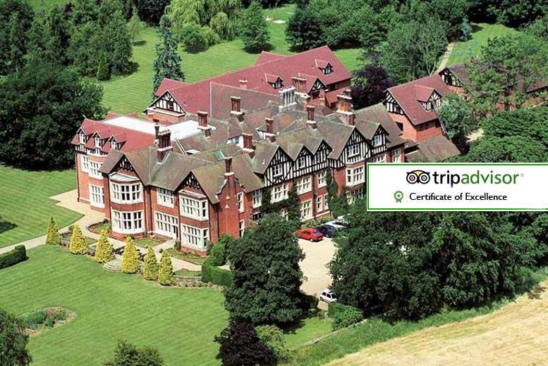 Scalford Hall Hotel Stay for 2 with Charity Ball & 5-Course Dinner