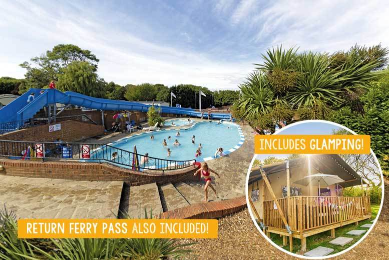 3-4nt Isle of Wight Parkdean Resorts Stay with Ferry for 6 - 4 Locations!