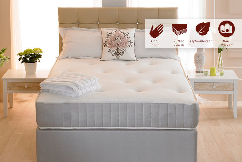 The Best Deal Guide - From £59 (from Midnight Dreams) for a single orthopaedic mattress, £69 for a small double or double, or £94 for a king-size mattress - save up to 85%
