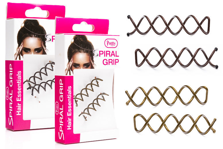 £2.99 instead of £5.99 for a set of two spiral hair grips from Ckent Ltd - save 50%