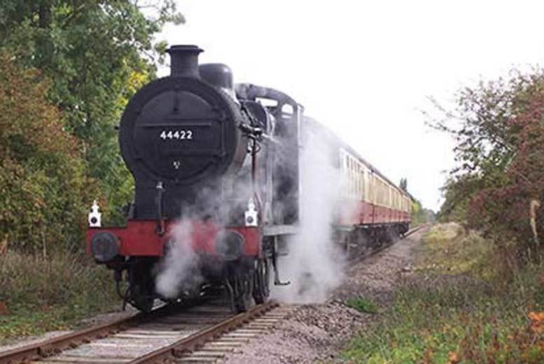 £39 for a family steam train experience at a choice of five locations from Activity Superstore!