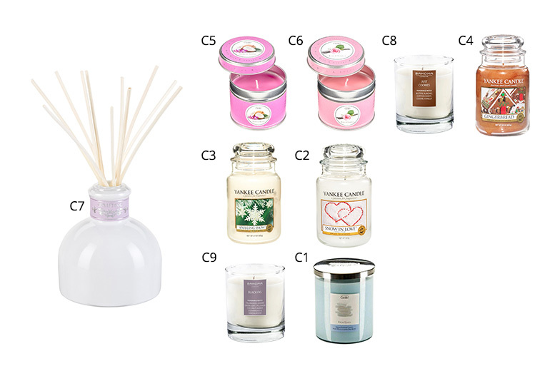 £12 for a Bahoma London, Copenhagen or Yankee candle or diffuser from Deals Direct - choose from nine sumptuous scents!