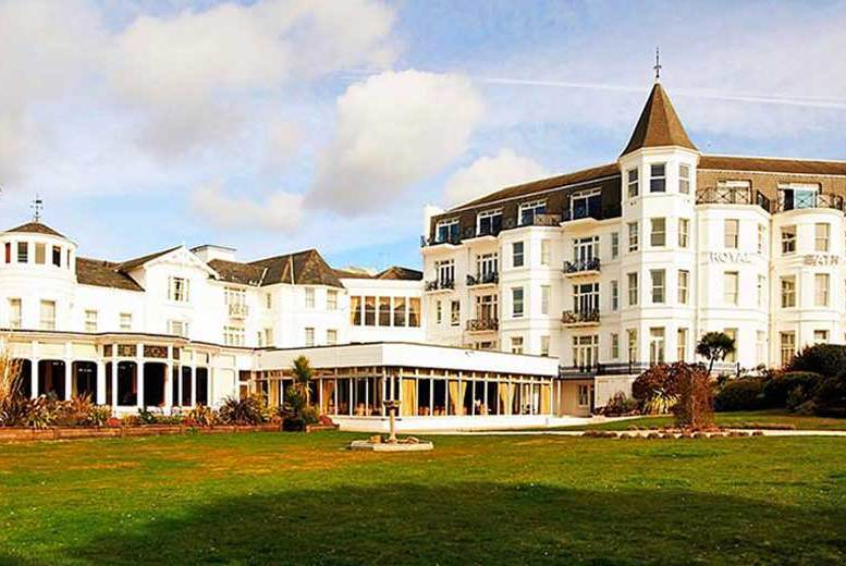 Bournemouth Escape with Wine, Dinner Options & Spindles Access