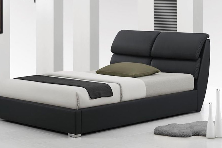 The Best Deal Guide - £129 instead of £770 (from Dining Tables) for a Libretto leather bed, with a limited number available for just £119, or from £189 to include a mattress - save up to 85%