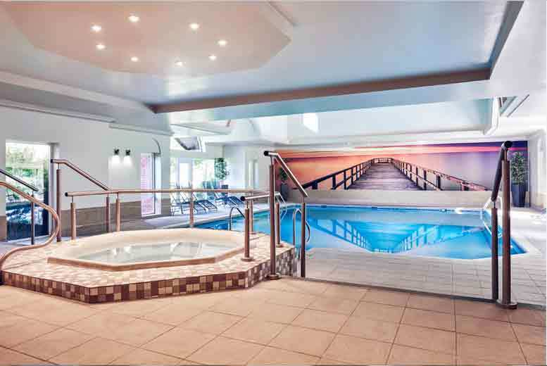 The Best Deal Guide - From £129 for a 4* overnight Shropshire stay for two with dinner, leisure access, choice of spa treatment, breakfast, £179 for two nights
