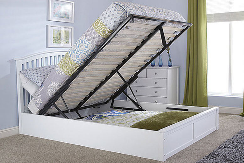 The Best Deal Guide - From £249 for a double ottoman bed with headboard, £279 for a king, £349 for a double with mattress, or £379 for a king with mattress from FTA Furnishing - save up to 64%