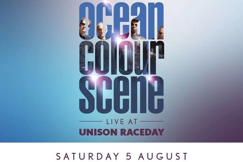 Horseracing & Ocean Colour Scene Live @ Doncaster Racecourse