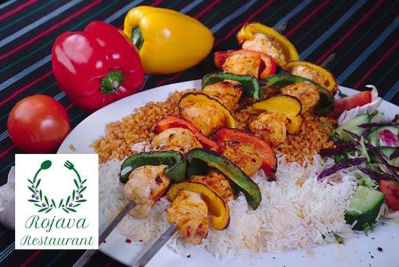 The Best Deal Guide - £19.95 instead of up to £40.40 for two-course Kurdish and Lebanese dining for two people, or £39.90 for four people at Rojava, Edinburgh City Centre - save up to 51%