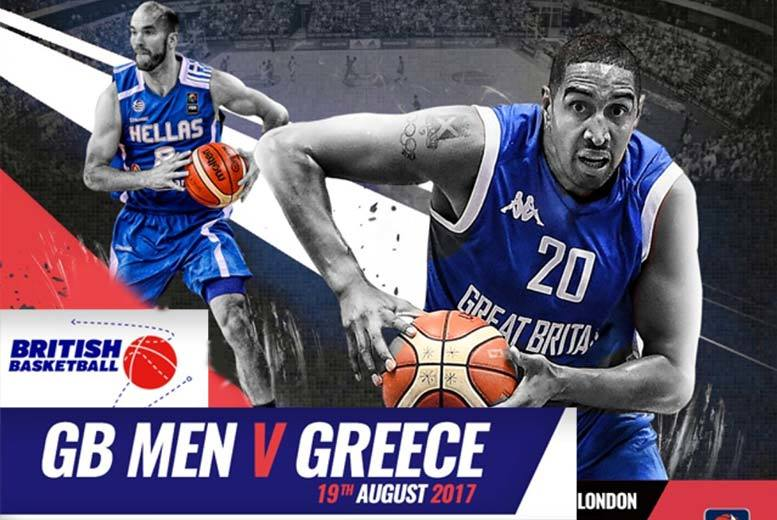 British Basketball GB V Greece - Family Option Available!