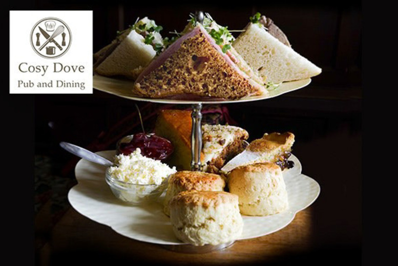 The Best Deal Guide - £18 instead of £29 for afternoon tea for two people with macaroons and a mini bottle of Prosecco each at Cosy Dove, Newcastle - save 38%