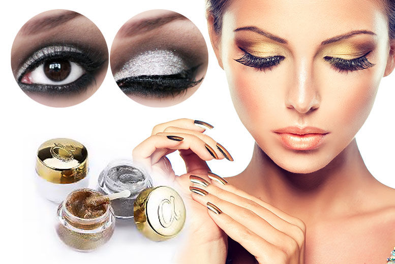 The Best Deal Guide - £4.99 instead of £16.99 for a foil eyeshadow gel in gold or frost from GetGorgeous - save 71%