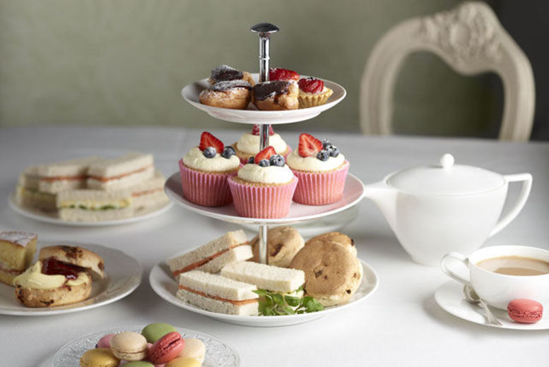 The Best Deal Guide - £16 instead of £25 for an afternoon tea for 2 from The Mess Cafe - save 36%