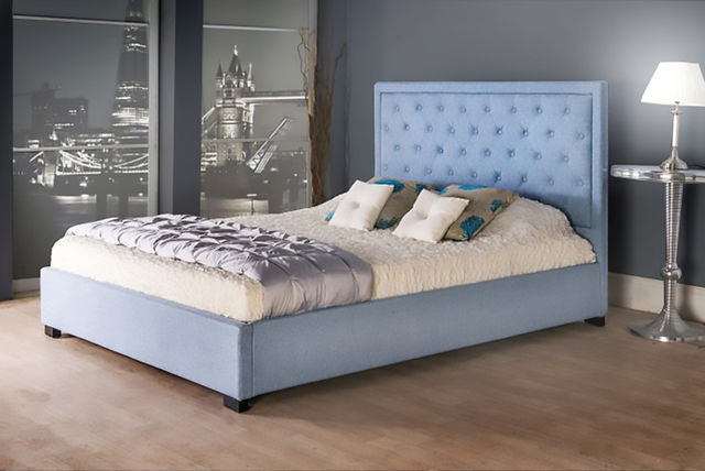 Fabiano Fabric Storage Bed