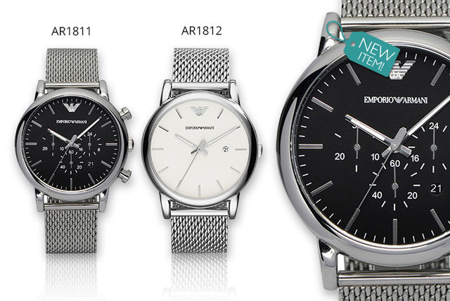 d39a73e9ea7 €149 instead of €454.50 (from Class Watches) for a men s Emporio Armani  watch- choose from two styles and save 67%