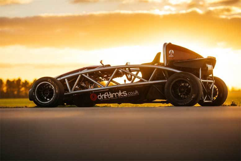 The Best Deal Guide - £69 instead of £139 for a 14-lap supercharged Ariel Atom driving experience with Drift Limits, Hemel Hempstead - save 50%