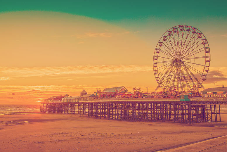 The Best Deal Guide - From £109 (at The Fossil Tree Hotel) for a two-night Blackpool stay with breakfast, bottle of wine on arrival and late checkout