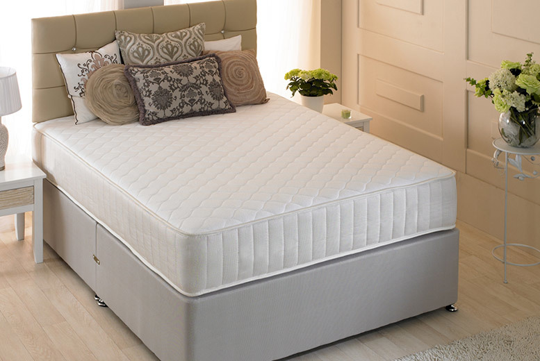 The Best Deal Guide - From £79 (from Desire Beds) for a crystal cool touch memory foam mattress - select from five sizes and save up to 80% + DELIVERY IS INCLUDED