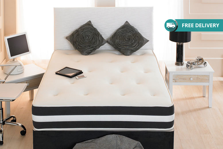 The Best Deal Guide - From £79 for a small single memory sprung mattress, £89 for a single, £109 for a double or small double, or £139 for a king from The Sleep People Ltd - Midnight Dreams - save up to 80%