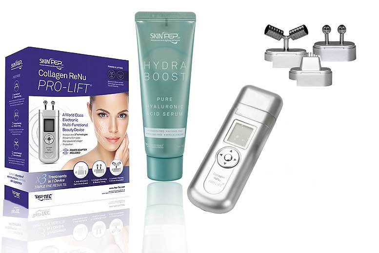 The Best Deal Guide - £69 instead of £206.49 (from Skinpep) for a a SkinPep® collagen pro lift & hydra boost serum - save 67%