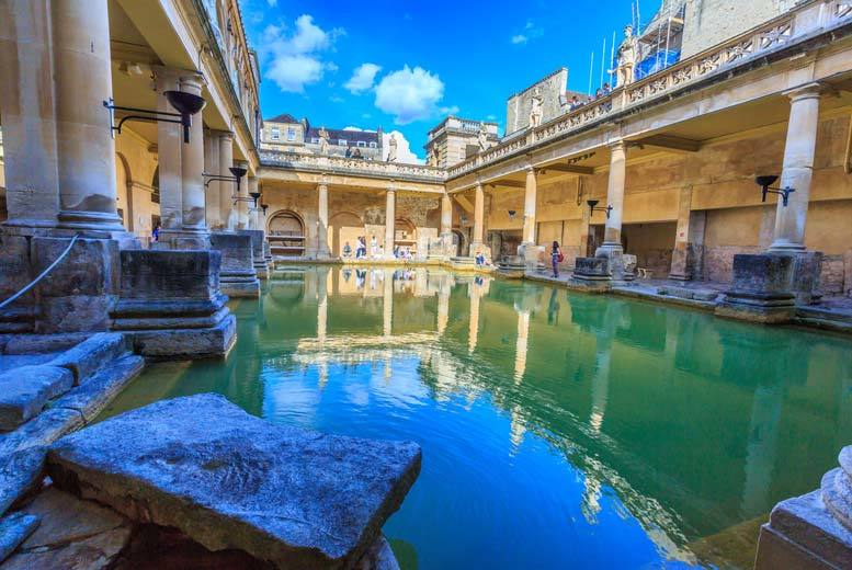 The Best Deal Guide - £89pp (from OMGhotels.com) for an overnight Bath stay with breakfast and entrance to the Roman Baths, £99pp for a 4* upgrade - save up to 58%