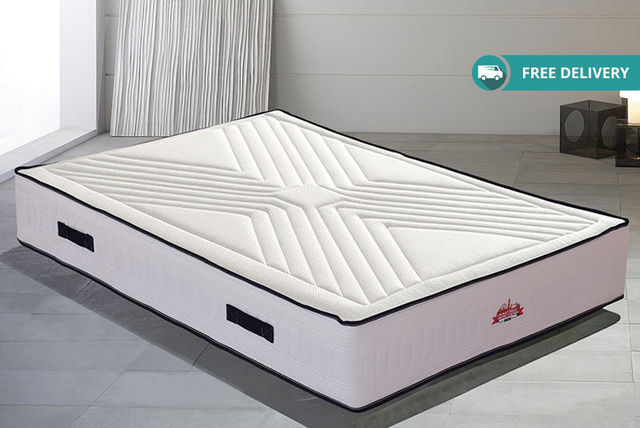 12-Zone Memory Foam Mattress