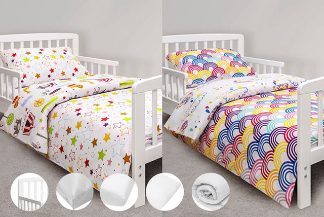 7pc Kinder Valley Toddler Bed Bundle