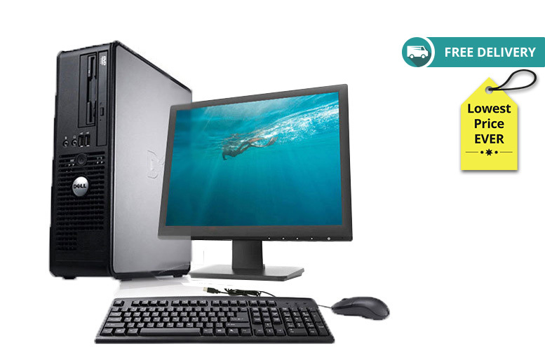 The Best Deal Guide - £129 instead of £1000 (from Computers Reborn LTD) for a Dell Optiplex 755 Core 2 Duo with 160GB HDD - choose your memory size and save 84% + DELIVERY IS INCLUDED!