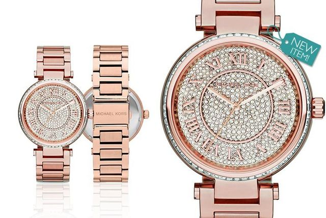 460b399a8d7b €139 instead of €334.66 (from Class Watches) for a ladies  Michael Kors  MK5868 rose-tone Skylar watch - save 58%