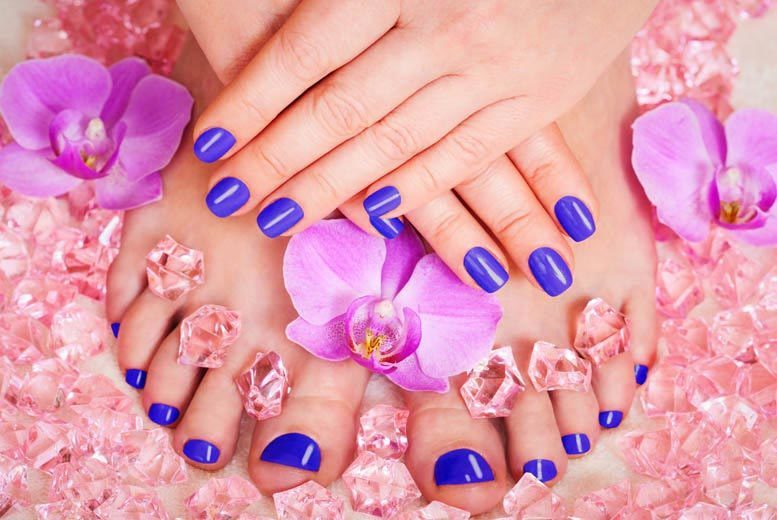 The Best Deal Guide - £19 instead of £40 for an express OPI manicure and pedicure at Tantalizing Spa, Victoria - save 52%