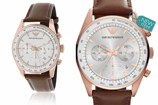 b65f0f16434 £129 instead of £349 (from Gray Kingdom) for a men s classic Emporio Armani  AR5995 chronograph watch - save 63%. deal over!