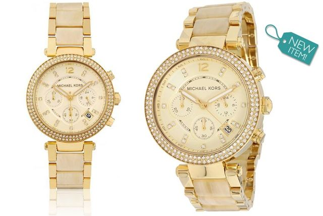 b00ea4cc7f25 £139 instead of £289 (from Gray Kingdom) for a Michael Kors MK5632 Parker chronograph  watch - save 52%