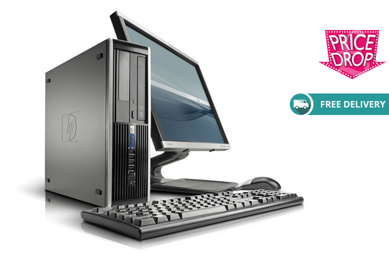 The Best Deal Guide - From £159 (from Computers Reborn) for an HP Elite 8000 Pro desktop computer bundle - save up to 80% + DELIVERY IS INCLUDED