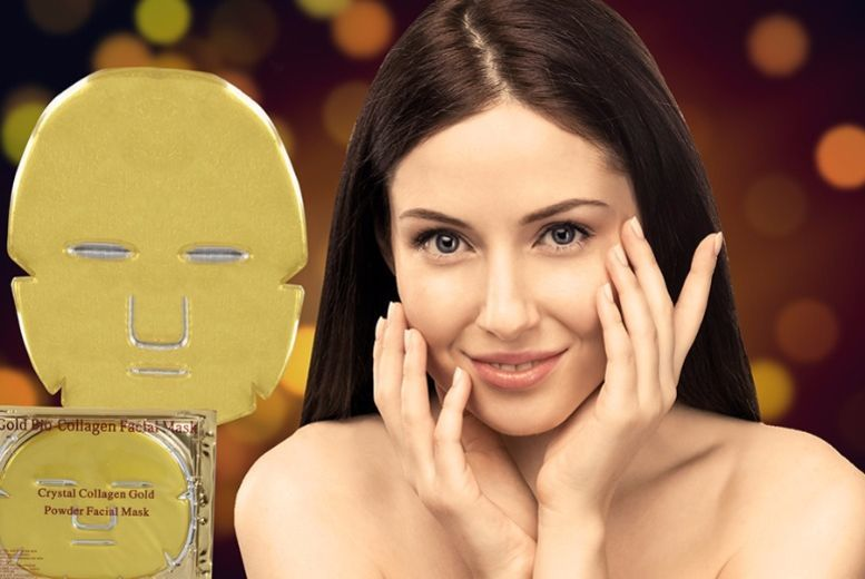 The Best Deal Guide - £8.99 instead of £35.99 for 10 collagen face masks from Ckent Ltd - save 75%