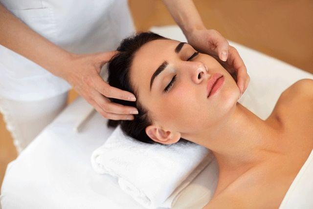Luxury facial massage
